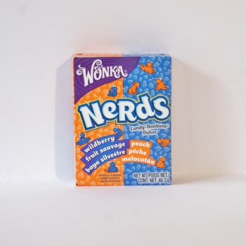 Wonka Nerds Peach & Wildberry from nestle American sweets from Auntie Ammie's Candy Shop UK