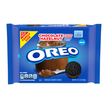 OREO Chocolate Hazelnut Family Size 17oz (482g)