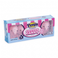 Peeps Easter Cotton Candy Chicks 5PK 1.5oz (42g)