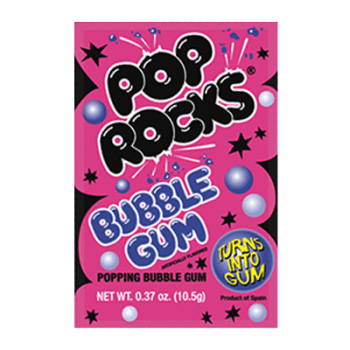 Pop rocks Bubble Gum 9g