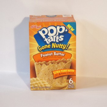 Pop Tarts Gone Nutty Peanut Butter American food from Auntie Ammie's Candy Shop UK