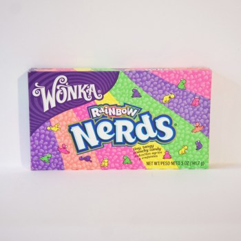 Wonka Rainbow Nerds from nestle American sweets from Auntie Ammie's Candy Shop UK