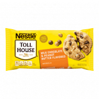 Toll House Milk Chocolate & Peanut Butter Flavoured Baking Chips 11oz (311g) from auntie jammies American candy shop