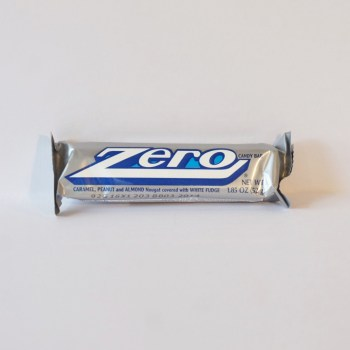 white chocolate zero bar American sweets from Auntie Ammie's Candy Shop