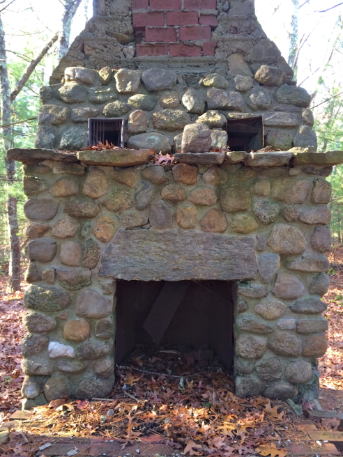 astonished fireplace