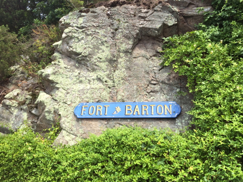 fort barton sign