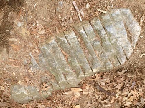 weird cut stone
