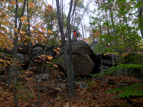 alex for reals on the ledges of the vin gormley trail