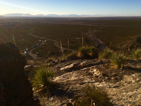 View of the Tularosa Basin
