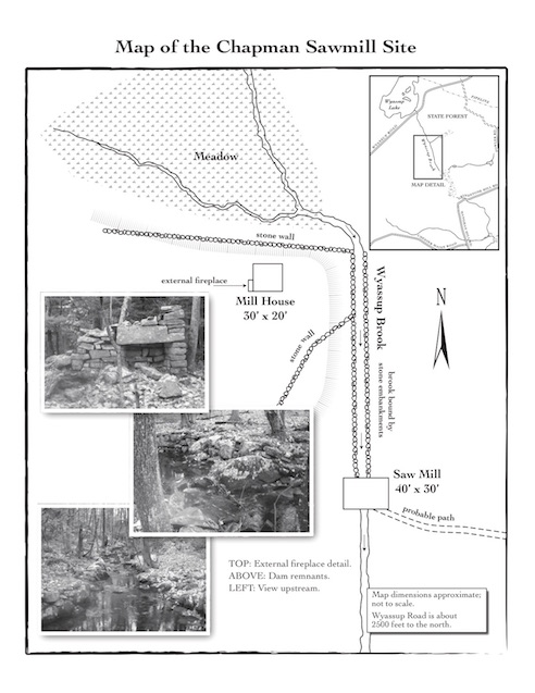 Chapman Mill Map