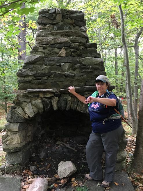 Selfie #2: Treetops Fireplace