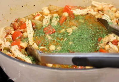 Chicken and Chickpea Taco Soup
