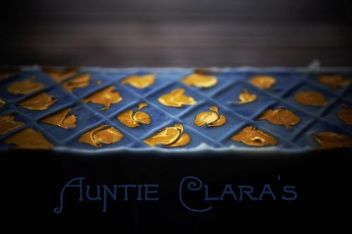 Blue renaissance by Auntie Clara's