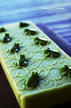 Frog Prince Handcrafted Soap by Auntie Clara's