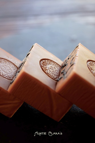 Sandalwood Rose Soap by Auntie Clara's