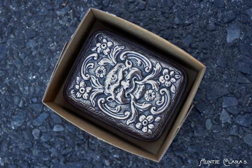 Mouldmaking: silver case in cardboard box