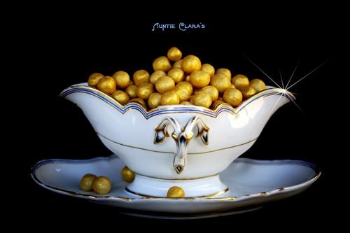 Golden Soap Balls by Auntie Clara's