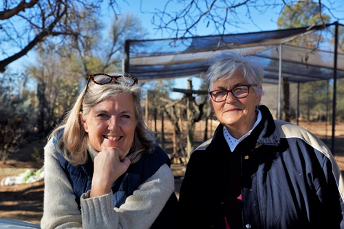 Auntie Clara Lindberg & Tannie Elsa van Schalkwyk