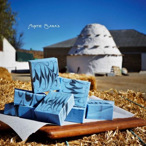 Blue Langbaken Soap