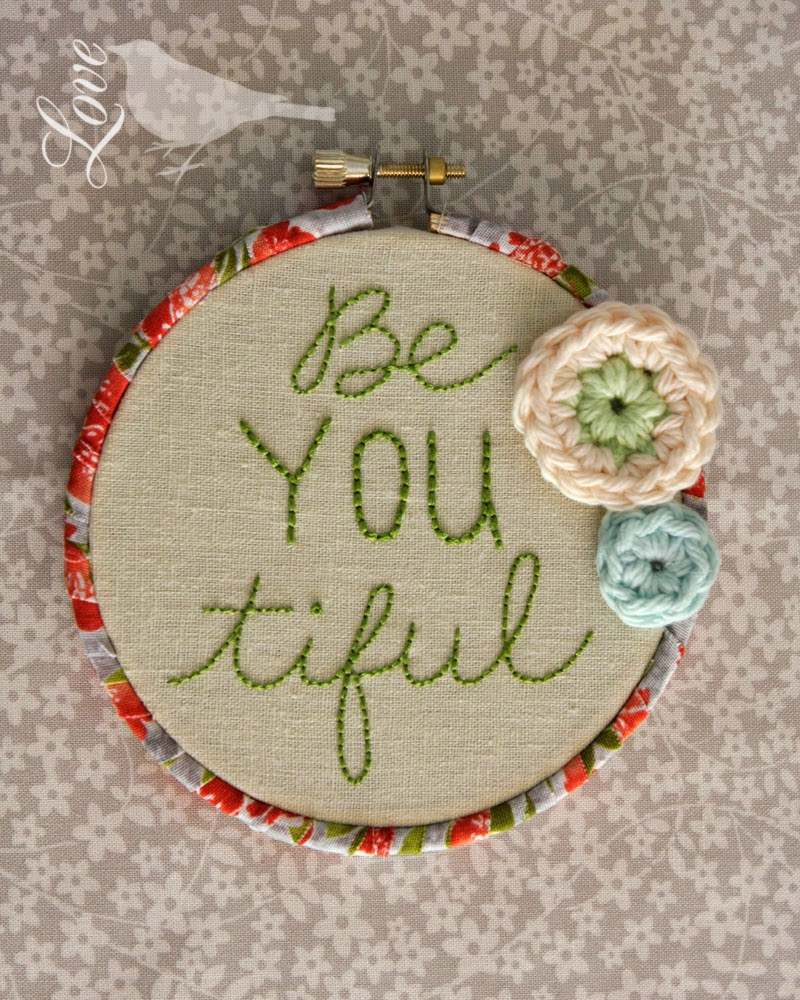How To End Embroidery : embroidery, Finish, Embroidery, Hoops, Auntie, Crafts