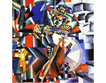 Kazimir-Malevich-The-Knife-Grinder