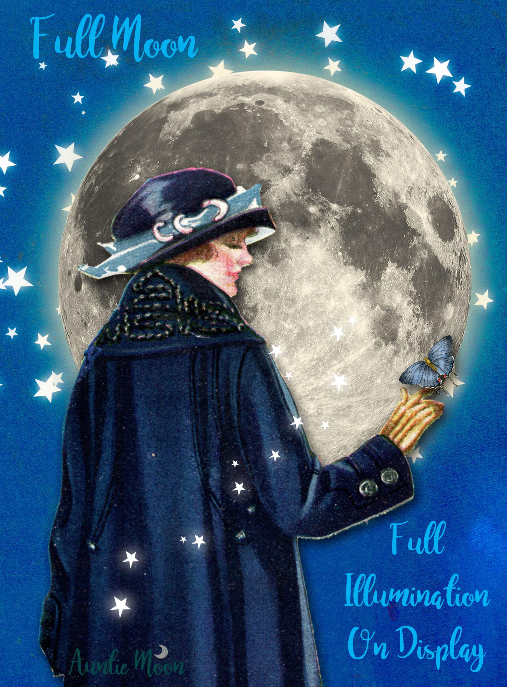 5 Full Moon Auntie Moon