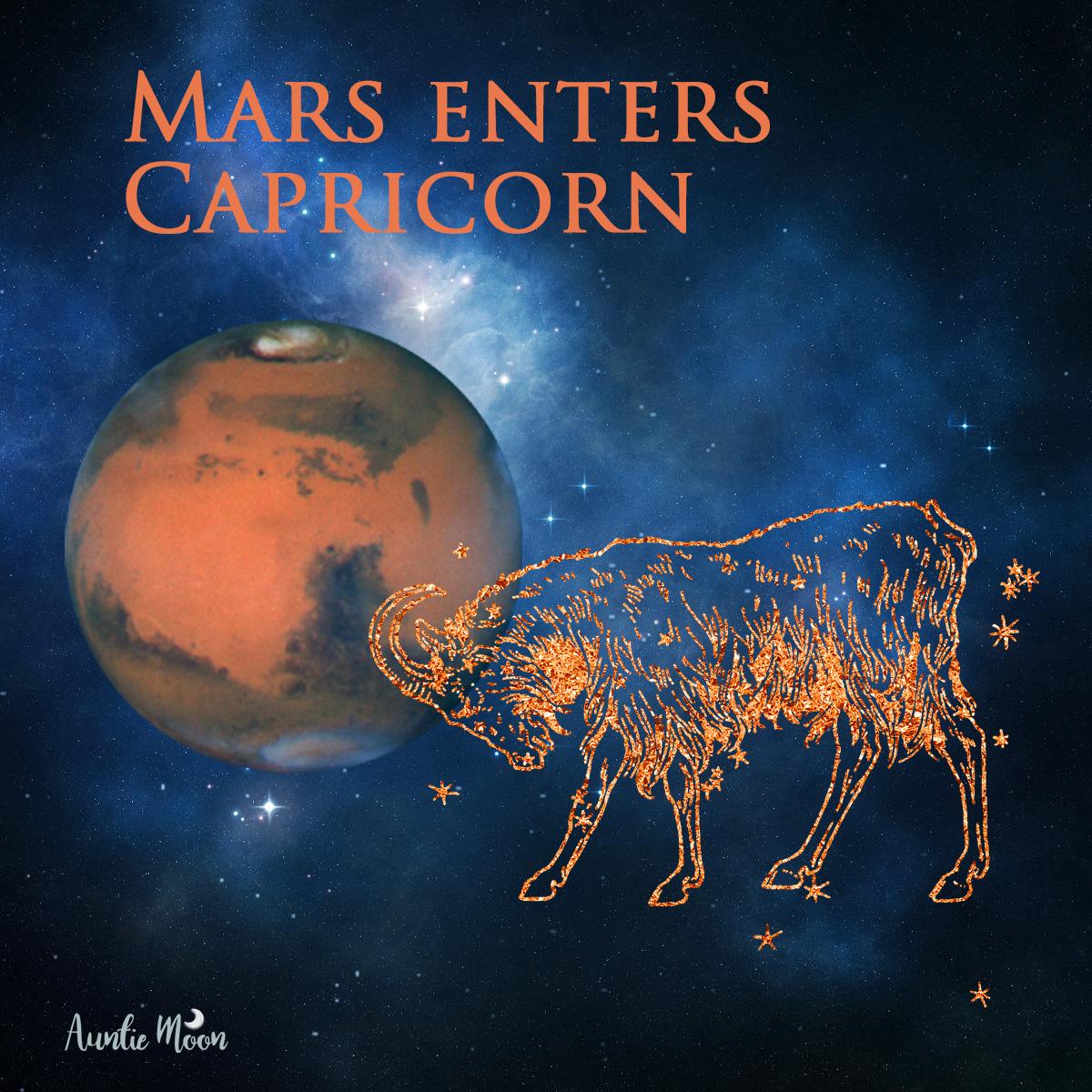 Mars In Capricorn Auntie Moon