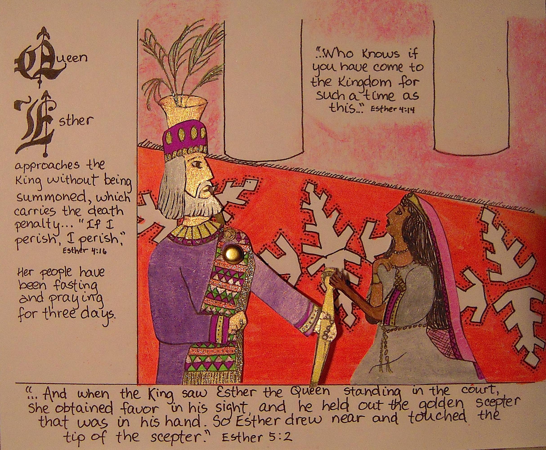 Queen Esther Worksheets
