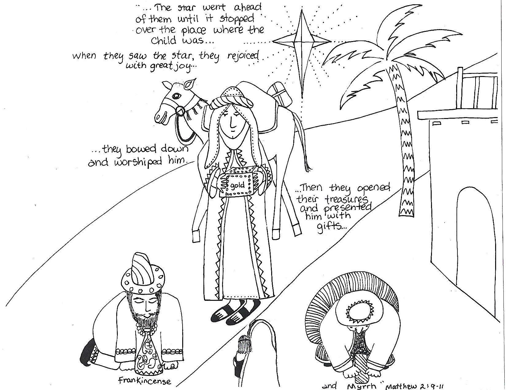 Three Wise Men Worksheet