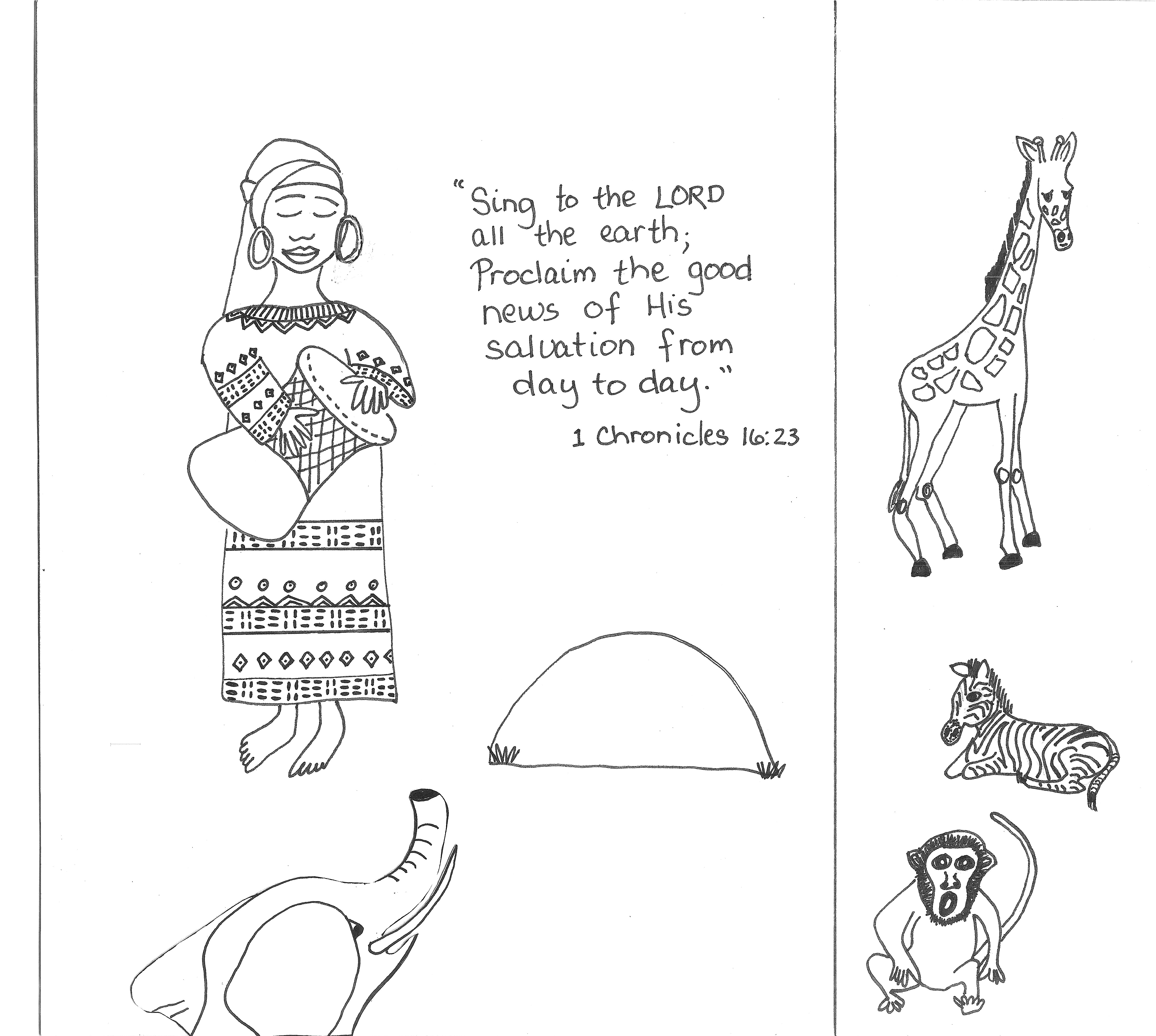 Coloring Page Isaiah 57 Coloring Pages