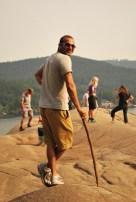 Cool Man BK Gandhi! or is that BK Hobbit with his walking stick?