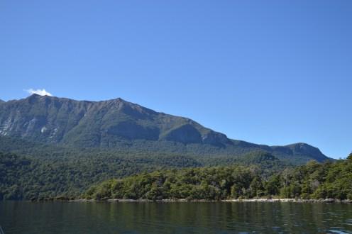 Crossing Lake Te Anau