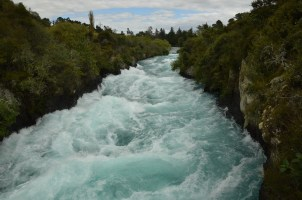 This is the water rushing down the river