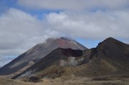 Mt. Ngauruhoe and the Red Crater.