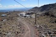 I'm glad I didn't walk up, or down Mt. Ruapehu.