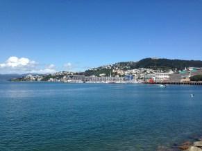 Beautiful view of Oriental Bay