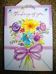 auntie stress get well soon card