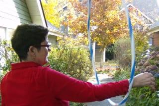 auntie stress hula hoop