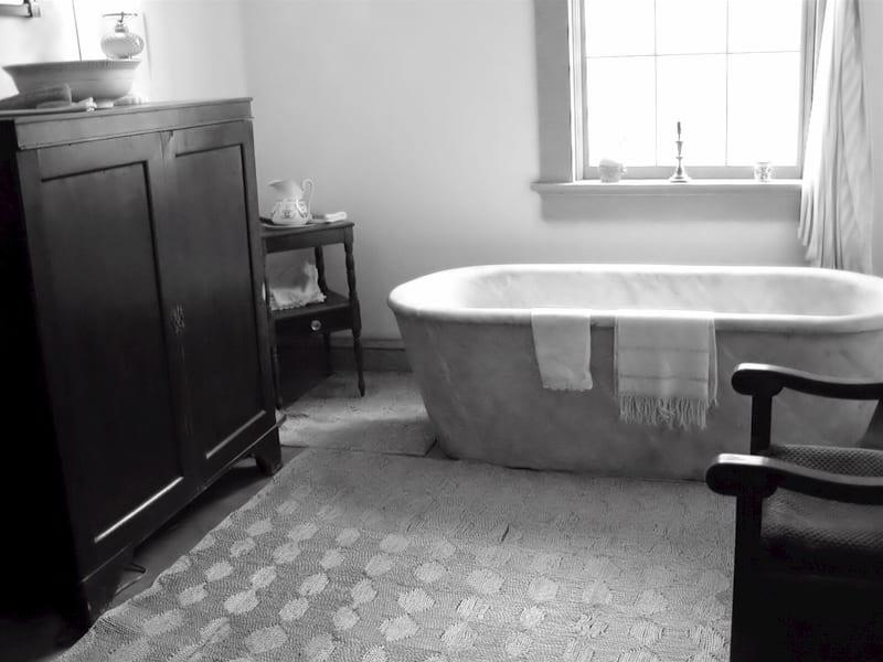 auntie stress bathtub