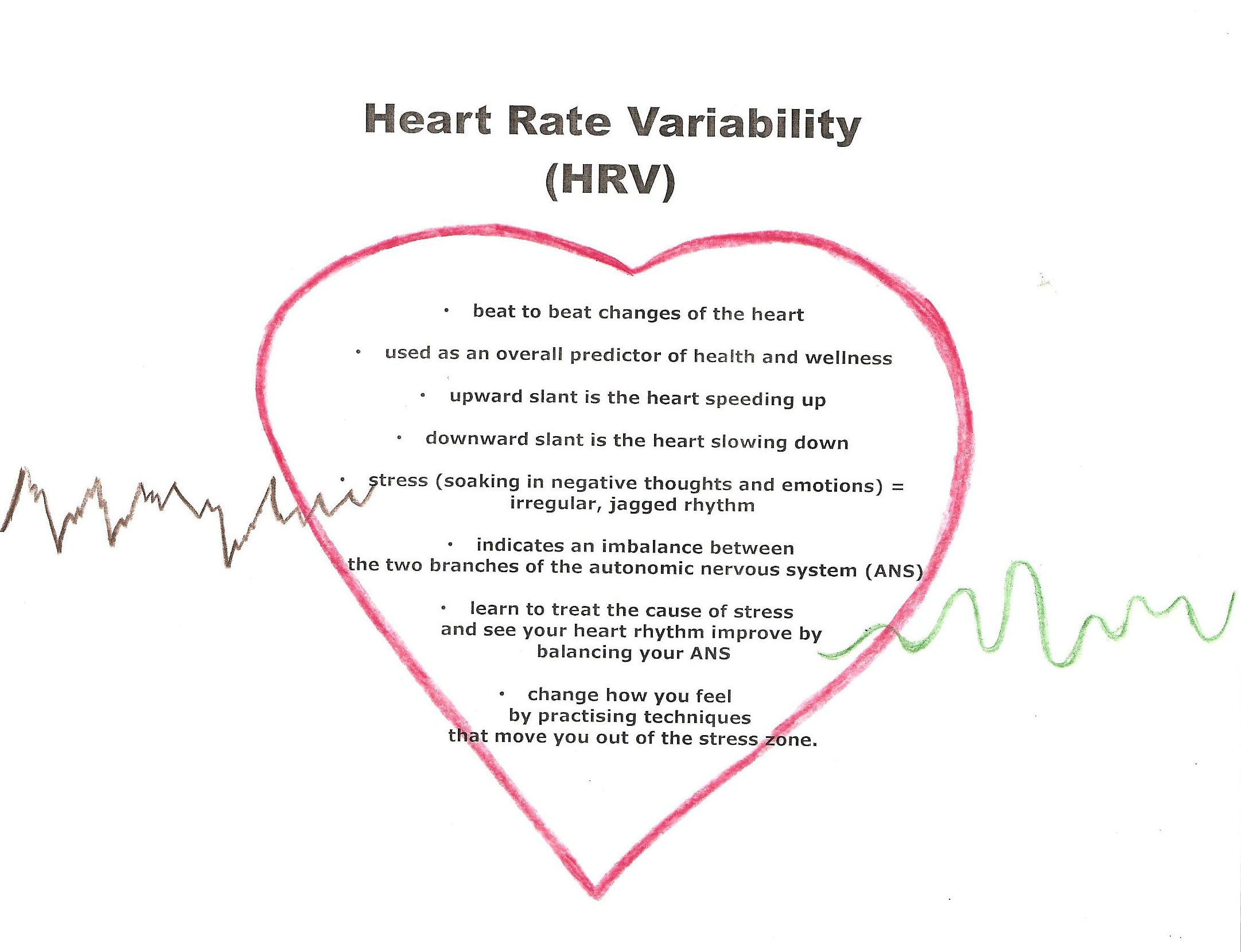 auntie stress heart rate variability
