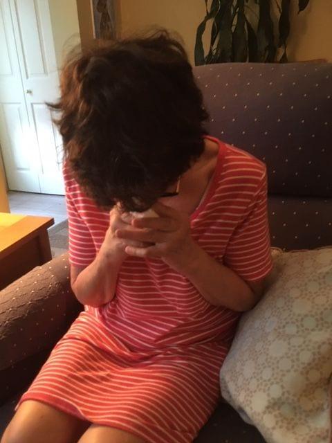 auntie stress cry