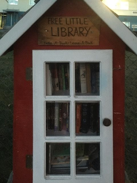 "Another ""Take a Book. Leave a Book"" library."