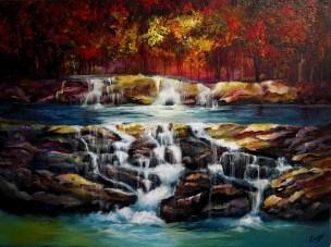 Autumn Falls 18x24x1.5 2013