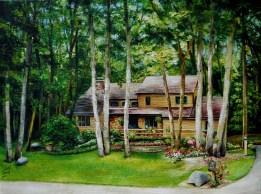 Brads Home Portrait 18x24 2012