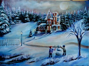 Winter Home 18x24 2012