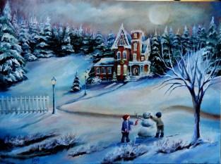 Winter Home 18x24 2012