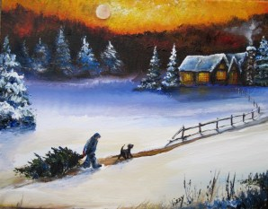 copy of bringing home christmas 11x14x1.5 2010