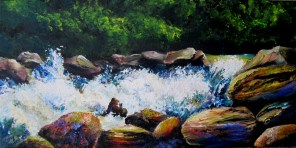 Rocks and Wild Water