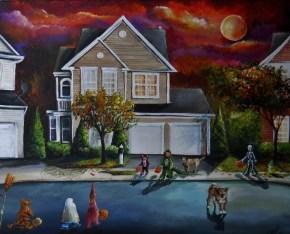 Garza's Moonlit Halloween
