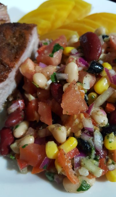 Mom's Futures Picnic Bean Salad